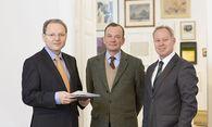 Karl Derfler, Franz Helbich (beide Geschäftsführer), Herbert Logar (Gesellschafter) / Bild: (c) petra rainer