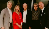 Peter Husslein, Ingrid Flick, Kurt Mann, Katharina Husslein und Thomas Hopfgartner (v.l.n.r.). / Bild: (c) natascha unkart/belle&sass