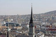 Stadtansicht Zürich / Bild: (c) EPA (PATRICK B. KRAEMER)