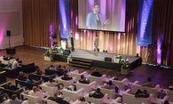 230 Gäste aus der Branche lauschten den Speakern. / Bild: Jana Madzigon / epmedia