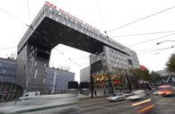 Bahnhofcity Wien West / Bild: (c) APA/HANS KLAUS TECHT (HANS KLAUS TECHT)