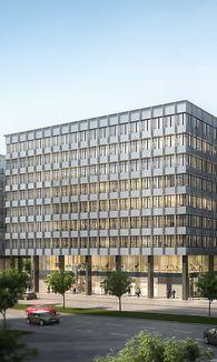 Moderne Gebäude wie das QBC 3 sind meist ökozertifiziert. / Bild: (c) ZOOMVP.AT