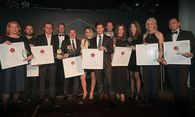 "Sieger in den Kategorien ""Qualitätsmakler 2017"", ""Top Developer 2017"", ""Bestes Start Up 2017"" / Bild: FindMyHome.at/APA-Fotoservice/Tanzer"