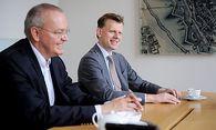 WU-Professor Georg Kodek (links) und CHSH-Managing Partner Clemens Hasenauer.  / Bild: (c) Die Presse (Clemens Fabry)