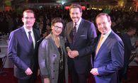 Hans-Peter Weiss, Christine Marek, Harald Mahrer und Wolgang Gleissner. / Bild: (c) Anna Rauchenberger