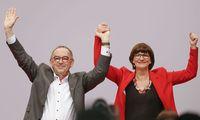 GERMANY-POLITICS-SPD-PARTIES-GOVERNMENT