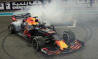 Red-Bull-Bolide von Max Verstappen