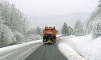 Oberlausitz Region Zittau Wintereinbruch und ergiebige Schneefaelle am Mittwoch Am Mittwoch kam es