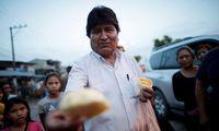 Evo Morales: Vom wahlkämpfenden Amtsinhaber (Bild) zum Ex-Präsidenten im argentinischen Exil.
