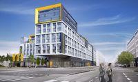 Das Student Hotel Vienna an der Nordbahnstraße wird kommendes Jahr eröffnet.