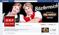 Der ORF auf Facebook