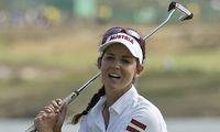 Christine Wolf holte in Indien zum größten Triumph ihrer Golfkarriere aus.