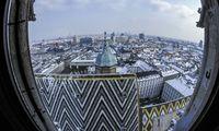 Am Stephansplatz kriecht dir die Kälte in die Knochen.