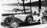 Mobiler Prunk der Zwanziger: Spitzenmodell SS von Mercedes-Benz, gebaut von 1928 bis 1934.
