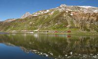 Eine spektakuläre Strecke legt der Glacier Express hinter sich.