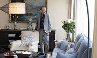 Wir trafen den israelischen Historiker Yuval Harari in einer Suite im Hotel Sacher in Wien zum Gespräch.