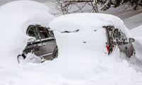 Schon am Freitag gab es - wie hier im Raum Mittersill - große Neuschneemengen.