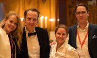 Future-Law Team: Sophie Werner, Michael Schachner (Moderator), Sophie Martinetz und Florian Punzet