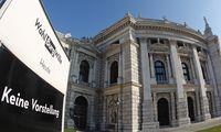 Austria´s historic Burgtheater theatre is pictured in Vienna