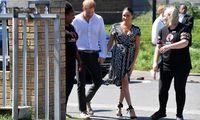 Prinz Harry und Herzogin Meghan sind in Kapstadt eingetroffen.