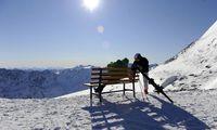 In den Skigebieten liegt immer noch Schnee.