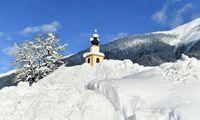 Am Freitag machte der Schneefall in Salzburg eine kurze Pause.