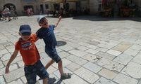 Felix (7) und Max (9) waren in Kroatien.