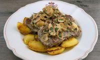 Steak Diane mit Rosmarinerdäpfeln