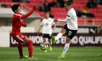 SOCCER - UEFA women s EURO quali, SRB vs AUT