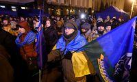 Demonstration anlässlich des russisch-ukrainischen Gipfeltreffens