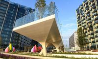 Diller Scofidio + Renfro People enjoy London s newest riverside destination The Tide an elevated cu