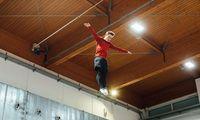 Erster Salto mit drei Jahren, inzwischen am Sprung zur Weltspitze: In der Luft ist Benjamin Wizani in seinem Element.