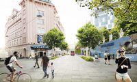 Gepflasterte Plätze, der Verkehr geregelt wie in Begegnungszonen – so könnten die Kreuzungsbereiche aussehen.