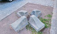 Wächst da was? Theodor-Herzl-Platz, Wien.