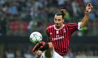 Archivbild: Zlatan Ibrahimovic 2011 im Dress des AC Milan