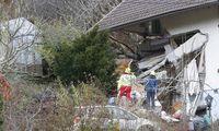 In Bad Kleinkirchheim ist ein Wohnhaus von einer Mure getroffen und fast völlig zerstört worden.