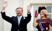 König Willem-Alexanders Bart war Thema Nummer eins in den Niederlanden - im Bild am Prinsjesdag mit seiner Gattin Maxima.