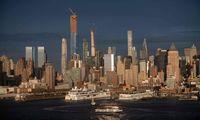 Ein anderer Blick auf NYC, Brooklyn, Manhattan und Williamsburg Brücken.