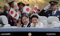 Die Parade war usprünglich nach der Zeremonie zur Inthronisierung des Kaisers geplant.