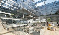 Der Entwurf des Büro Henn ging als Sieger eines Architekturwettbewerbs hervor.