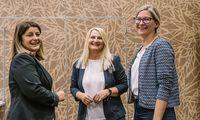 Andrea Brodschneider, Regina Eipeldauer, Simone Kosnik bei der Tagung der Demografieberatung
