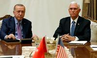 Recep Tayyip Erdoğan und Mike Pence.