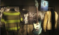 Iconic and rare memorabilia of the late Kurt Cobain are on display at the ´Nirvana: Taking Punk to the Masses´ exhibit at the Experience Music Project in Seattle