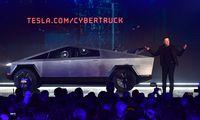 Elon Musk bei der Präsentation des Cybertrucks.