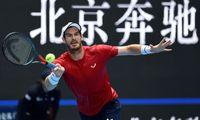 Andy Murray steht erstmals seit zwölf Monaten wieder im Viertelfinale.