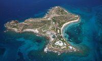 """Little St. James (0,3 km2), die """"Insel der Orgien"""" mit Epsteins früherem Anwesen."""