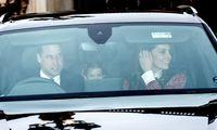 Das erste Weihnachtsessen haben Herzogin Catherine und Prinz William schon hinter sich.