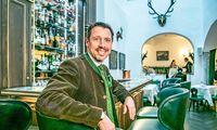 Wolfgang Putz, Direktor des Hotels Goldener Hirsch in der Stadt Salzburg.