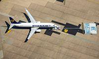 Eine Ryanair-Maschine.