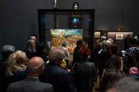 Einblick in die volle Bruegel-Ausstellung